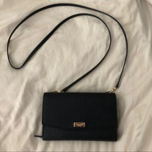 Kate Spade ♠️ black crossbody wallet